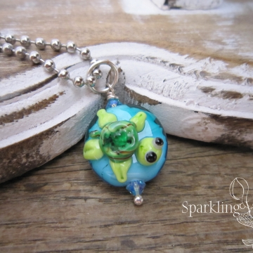 SW Studios - Lampwork Glass Sea Creature