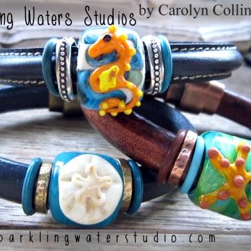 Mykanos Greek Leather Bracelets